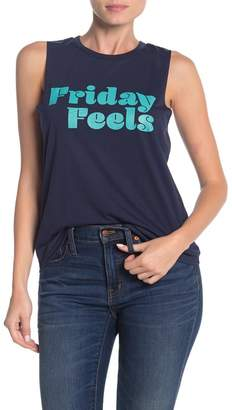 BCBGeneration Friday Feels Muscle Tank Top