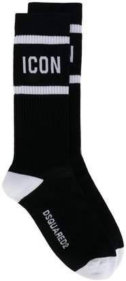 DSQUARED2 icon socks