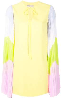 Emilio Pucci contrast-sleeves dress