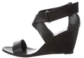 Pierre Hardy Leather Multistrap Wedge Sandal w/ Tags