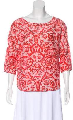 DAY Birger et Mikkelsen Long Sleeve Printed Blouse