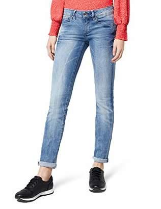 G Star Women's Midge Mid-Waist Straight Jeans