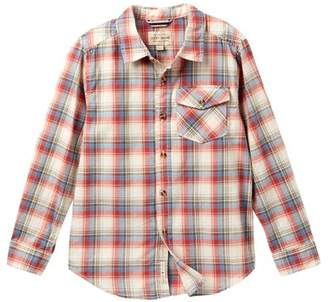 Lucky Brand Long Sleeve Plaid Shirt (Big Boys)