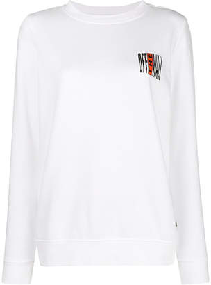 Vans Off The Wall print sweatshirt