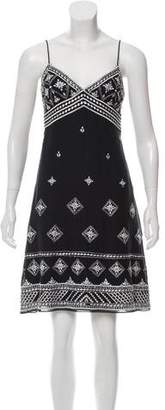 Temperley London Embroidered Sleeveless Dress