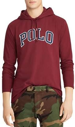 Polo Ralph Lauren Logo Appliqué Hooded Jersey Tee