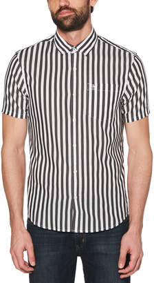 Original Penguin SATIN STRIPE SHIRT