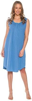 Patricia from Paris Women's 46'' Long Sleepshirt Nightgown Sleepwear