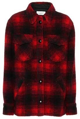Etoile Isabel Marant Isabel Marant, Étoile Gast plaid jacket