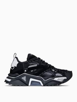 Calvin Klein strike 205 lace-up heavy tread athletic sneaker in calf leather