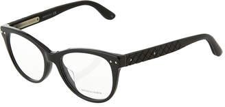 Bottega Veneta Modified Cat-Eye Optical Glasses