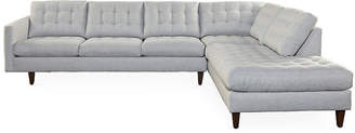 One Kings Lane Anniston Sectional - Gray
