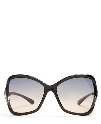 Tom Ford Anouk irregular square-frame sunglasses