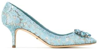 Dolce & Gabbana Pump in Taormina lace with crystals