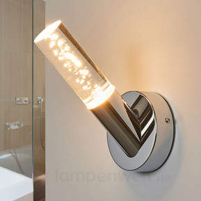 Attraktive Bad-Wandlampe Duncan mit LED