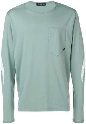 Stone Island Shadow Project green longsleeved top