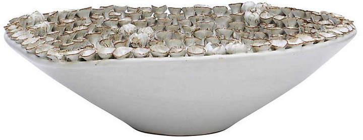 Janus Et Cie Petals Bowl - White - JANUS et Cie
