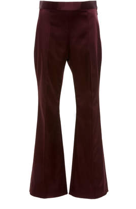 Rosetta Getty Cropped Flare Pant