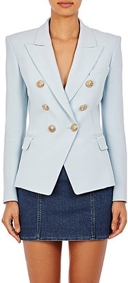Balmain Women's Double-Breasted Blazer $2,775 thestylecure.com