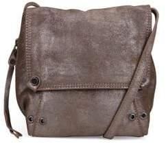 Kooba Orian Metallic Leather Crossbody Bag