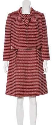 Lida Baday Patterned Midi Dress Set w/ Tags