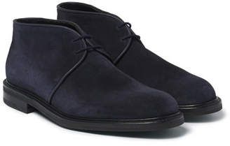 John Lobb Grove Suede Chukka Boots - Navy