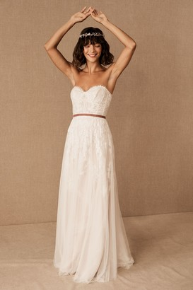 BHLDN Willowby By Watters Geranium Gown