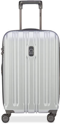 """Delsey ConnecTech 21"""" Spinner Expandable Carry-On Suitcase"""
