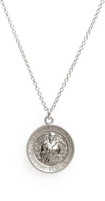 Dogeared Saint Francis Pendant Necklace