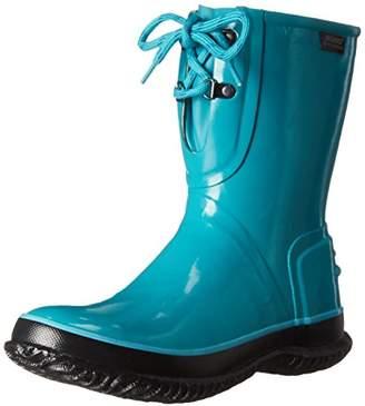 Bogs Women's Urban Farmer 2 Eye Solid Waterproof Rain Boot