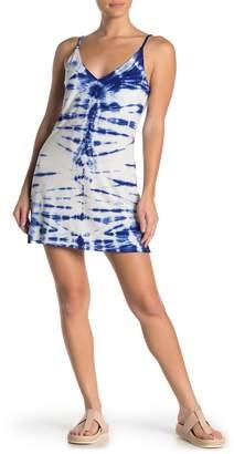 Young Fabulous & Broke YFB by Tie Dye Mini Slip Dress