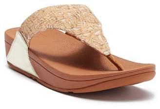 FitFlop Lulu Toe Post Cork Platform Sandal