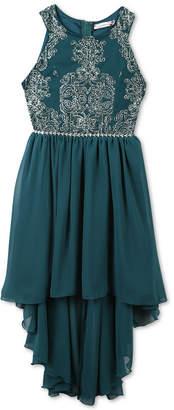 Speechless Big Girls Plus High-Low Hem Party Dress