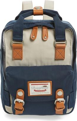 Doughnut Mini Macaroon Colorblock Water Resistant Backpack