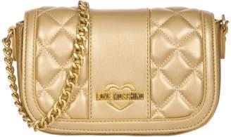 Moschino Gold Crossbody Bag