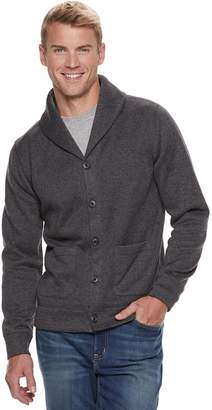 Sonoma Goods For Life Men's SONOMA Goods for Life Supersoft Sweater Fleece Shawl-Collar Cardigan