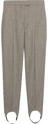 Burberry Long Houndstooth Check Tailored Jodhpurs
