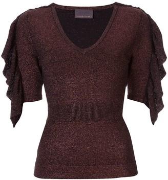 Ginger & Smart Revel glitter knit top