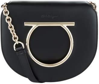 Salvatore Ferragamo Vela Leather Cross Body Bag
