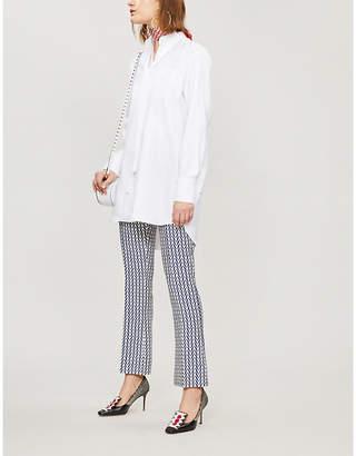 Valentino Tie-detail cotton shirt