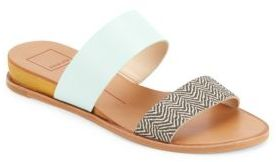 Palmi Open-Toe Slip-On Slides $100 thestylecure.com