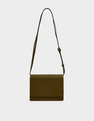 Baggu Small Structured Crossbody Bag in Kelp