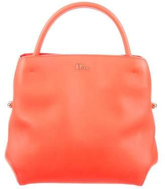 Christian Dior Leather Bar Tote w/ Tags