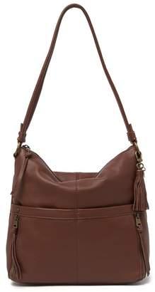 The Sak Leather Zip Hobo Bag