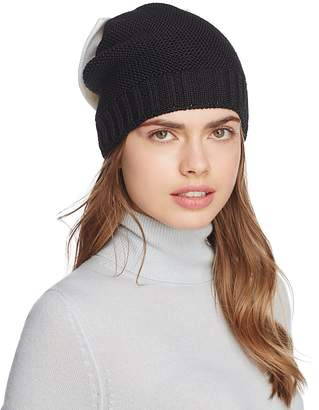 Helene Berman Knit Bow Beanie