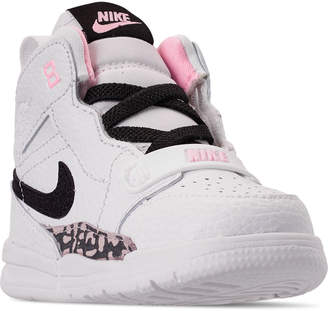 official photos e05f8 46ef7 Pink And Black Nike Air Jordan - ShopStyle