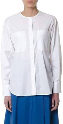 Sportmax White Cotton Shirt