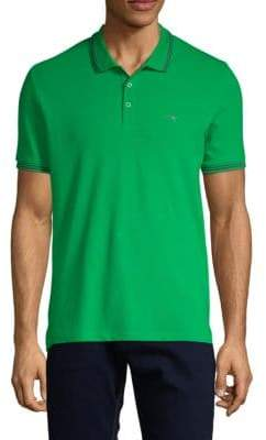 Armani Jeans Logo Stretch-Cotton Polo