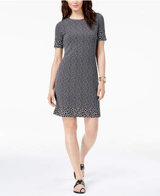 Michael Kors Animal-Print Dress
