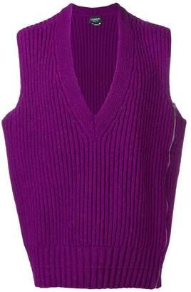 Calvin Klein longline sweater vest